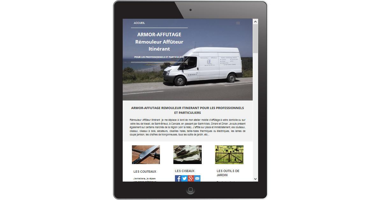Armor-Affûtage tablette